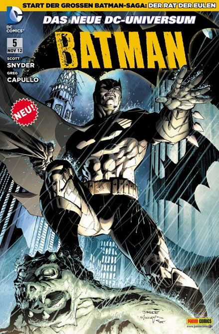BATMAN (NEW 52) #05