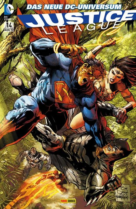 JUSTICE LEAGUE (NEW 52) #14
