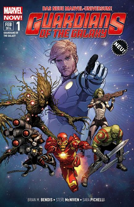 GUARDIANS OF THE GALAXY (ab 2014) #01