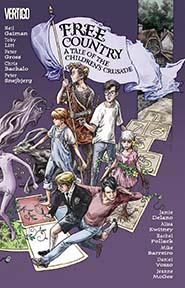 FREE COUNTRY A TALE OF THE CHILDRENS CRUSADE TP