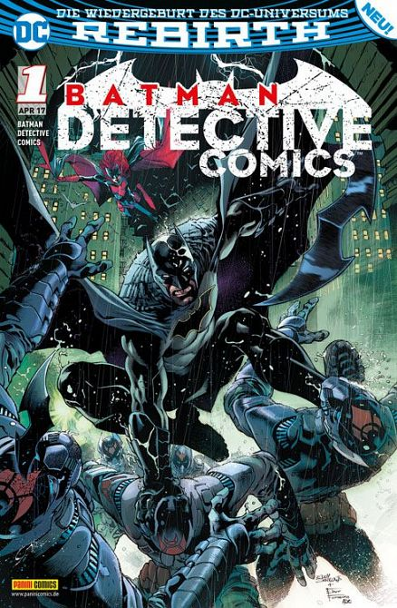 BATMAN - DETECTIVE COMICS (REBIRTH) #01