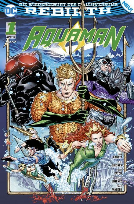AQUAMAN (REBIRTH) #01