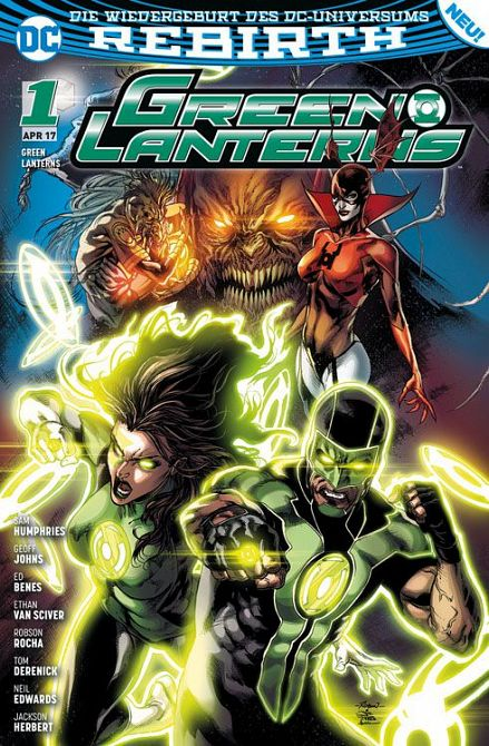 GREEN LANTERNS (REBIRTH) #01