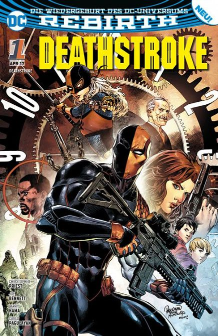 DEATHSTROKE (REBIRTH) #01