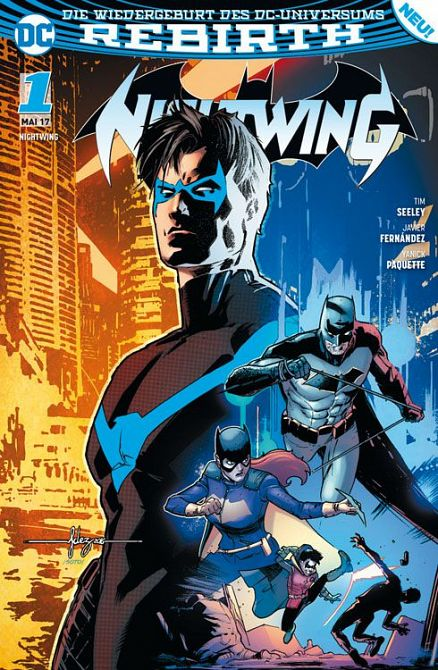 NIGHTWING (REBIRTH) #01