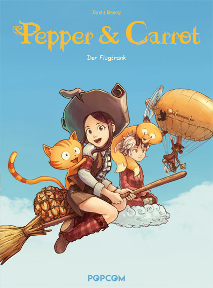 PEPPER & CARROT #01