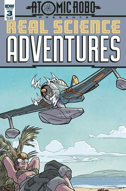 REAL SCIENCE ADVENTURES FLYING SHE-DEVILS #3