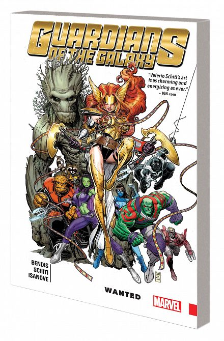GUARDIANS OF GALAXY NEW GUARD TP VOL 02 WANTED