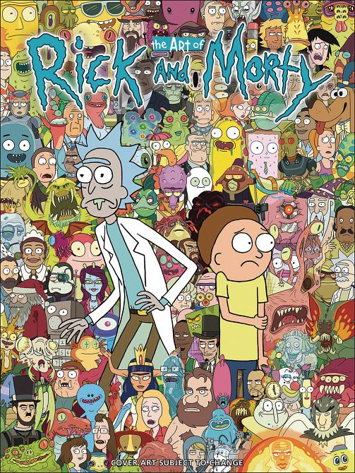 ART OF RICK & MORTY HC