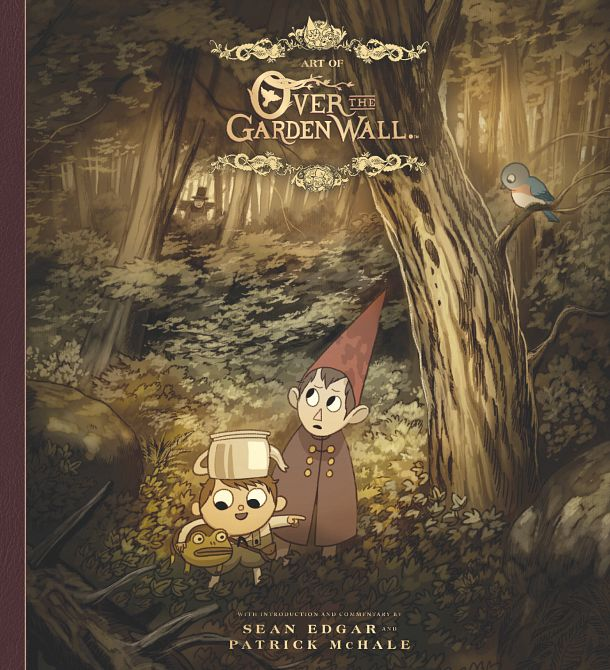 ART OF OVER THE GARDEN WALL LTD ED HC