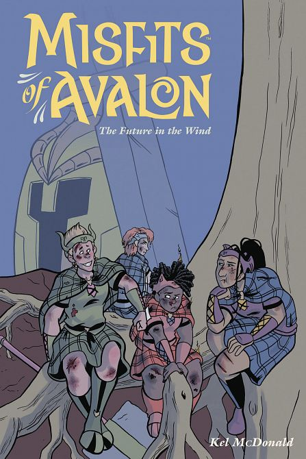 MISFITS OF AVALON TP VOL 03 FUTURE IN WIND