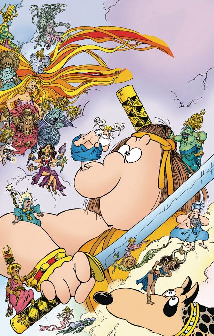 GROO PLAY OF GODS #1