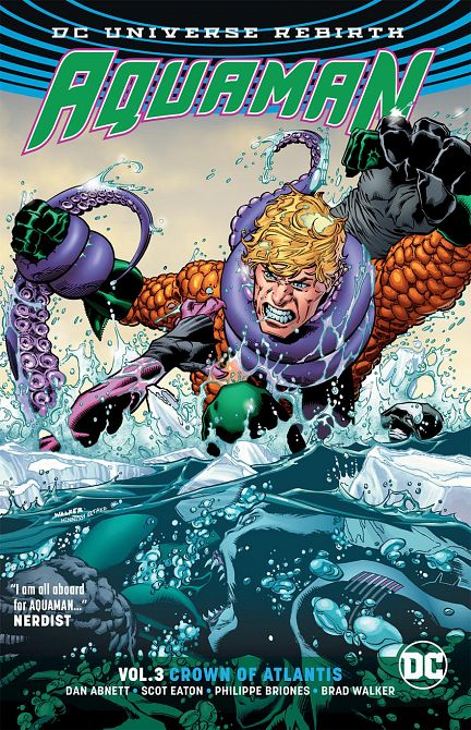 AQUAMAN TP VOL 03 CROWN OF ATLANTIS