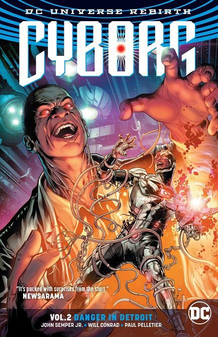 CYBORG TP VOL 02 DANGER IN DETROIT