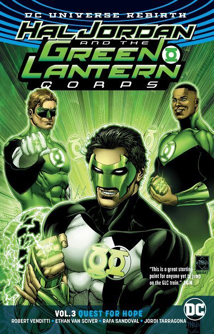 HAL JORDAN & THE GLC TP VOL 03 QUEST FOR HOPE