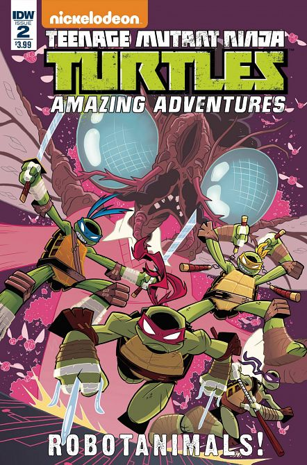 TMNT AMAZING ADVENTURES ROBOTANIMALS #2