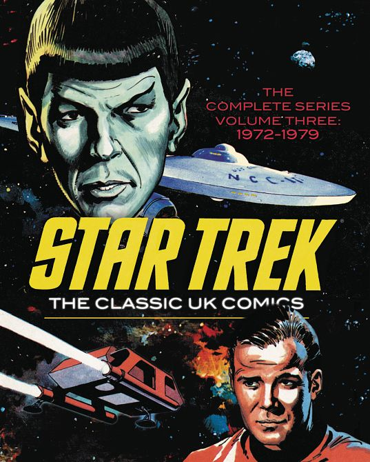 STAR TREK CLASSIC UK COMICS HC VOL 03