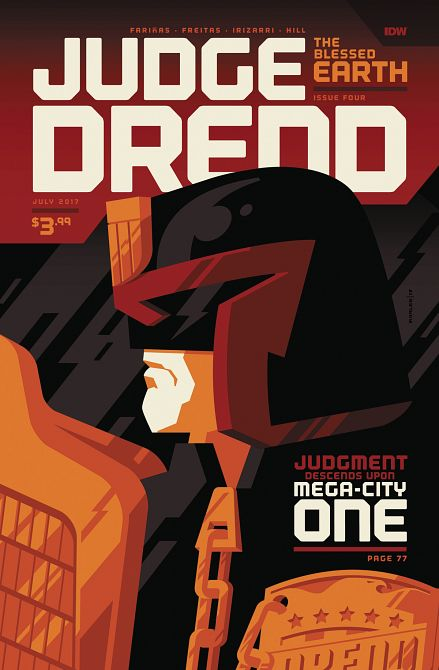 JUDGE DREDD BLESSED EARTH #4