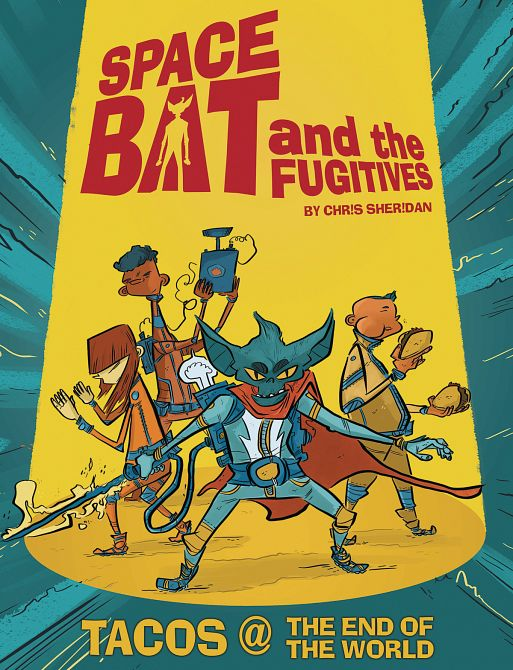 SPACEBAT & THE FUGITIVES GN BOOK 01