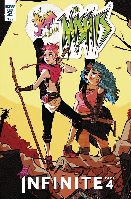 JEM & THE HOLOGRAMS MISFITS INFINITE #2