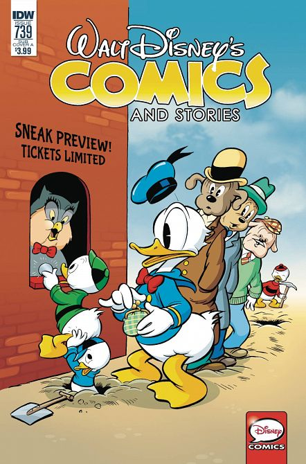 WALT DISNEY COMICS & STORIES #739