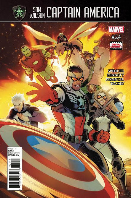 CAPTAIN AMERICA SAM WILSON #24