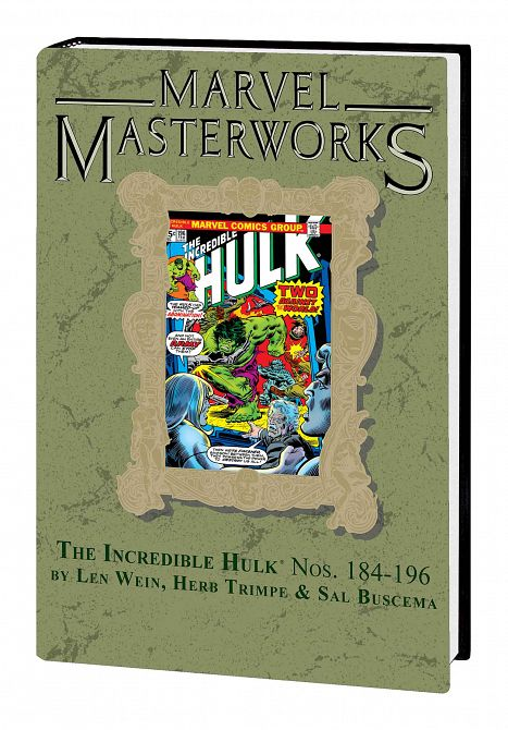 MARVEL MASTERWORKS INCREDIBLE HULK HC VOL 11 DM VAR ED 252