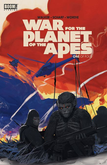 WAR FOR PLANET OF THE APES #1