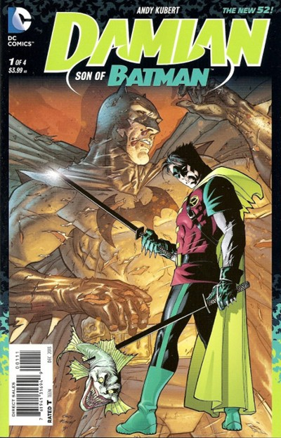 DAMIAN SON OF BATMAN