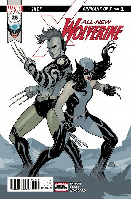ALL NEW WOLVERINE #25