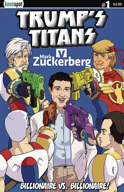 TRUMPS TITANS VS MARK ZUCKERBERG #1