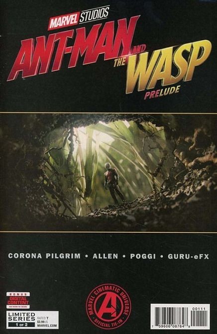 MARVELS ANT-MAN AND WASP PRELUDE