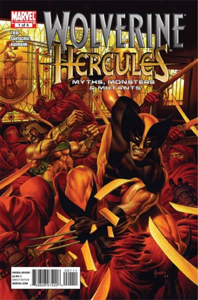 WOLVERINE HERCULES MYTHS MONSTERS AND MUTANTS