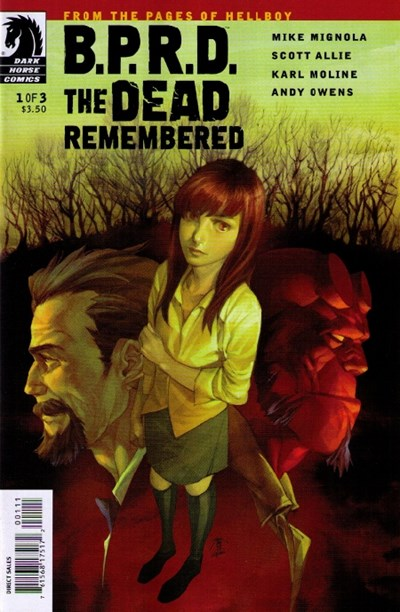 BPRD DEAD REMEMBERED
