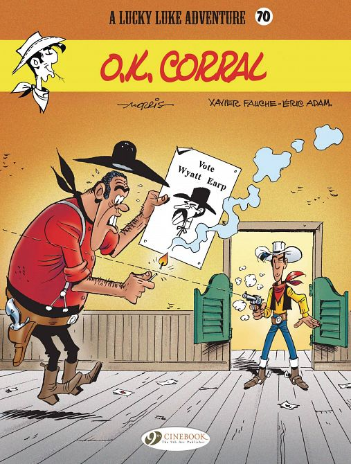 LUCKY LUKE TP VOL 70 OK CORRAL