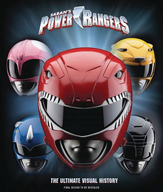 POWER RANGERS ULTIMATE VISUAL HISTORY HC