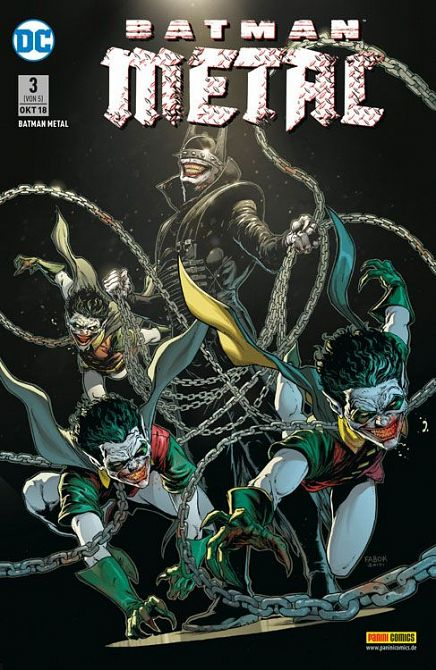 BATMAN METAL (2018) #03