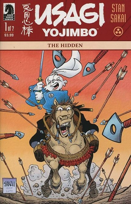 USAGI YOJIMBO - THE HIDDEN