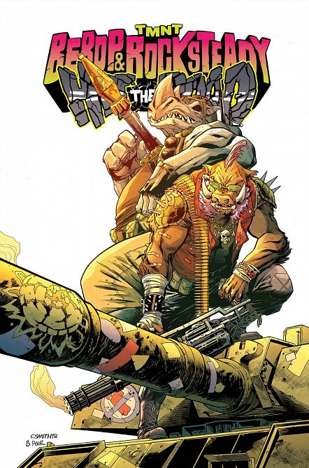 TMNT BEBOP & ROCKSTEADY HIT THE ROAD TP