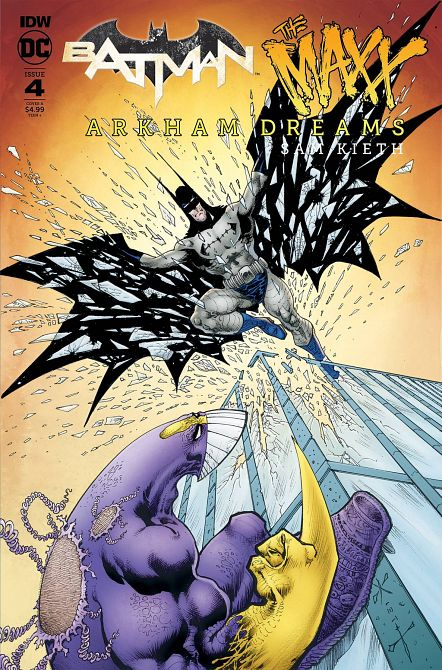 BATMAN THE MAXX ARKHAM DREAMS #4