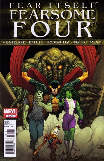 FEAR ITSELF FEARSOME FOUR