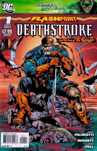 FLASHPOINT DEATHSTROKE THE CURSE OF RAVAGER