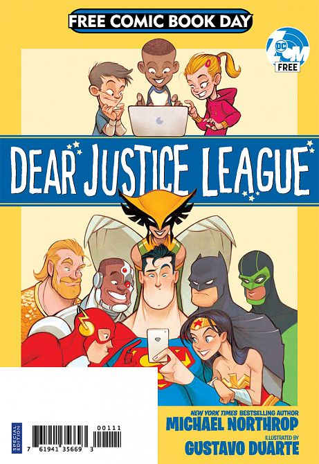 FCBD 2019 DC DEAR JUSTICE LEAGUE SPECIAL EDITION