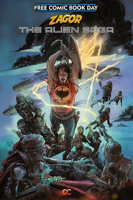 FCBD 2019 ZAGOR THE ALIEN SAGA