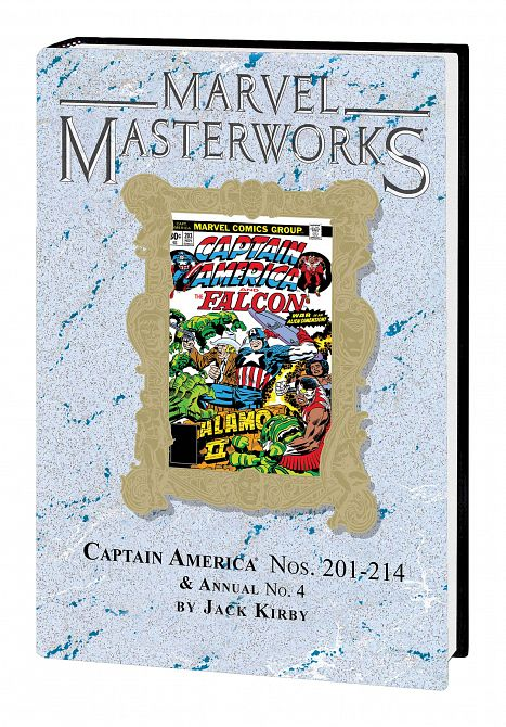 MARVEL MASTERWORKS CAPTAIN AMERICA HC VOL 11 DM VAR ED 277