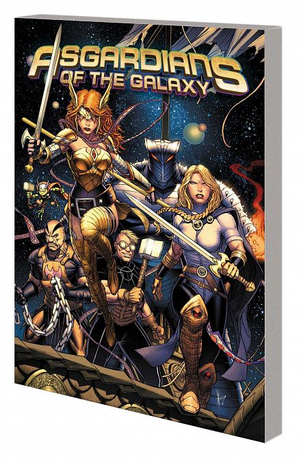 ASGARDIANS OF THE GALAXY TP VOL 01