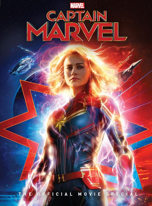 CAPTAIN MARVEL OFF MOVIE SPECIAL HC