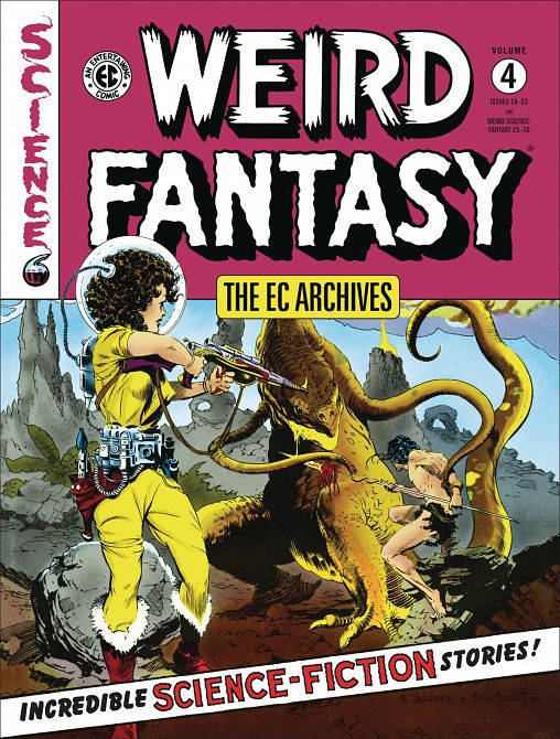 EC ARCHIVES WEIRD FANTASY HC VOL 04