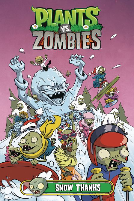 PLANTS VS ZOMBIES HC SNOW THANKS