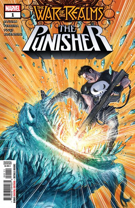 WAR OF REALMS PUNISHER #1